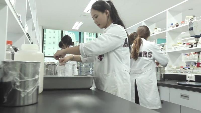 Южнокорейский завод Ancors, производящий косметику SHARY