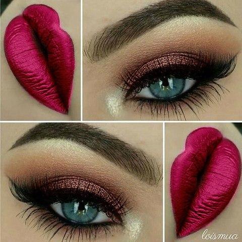 Красивый макияж (1 фото)