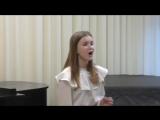 Огаркова Софья-Ария Серпины из оперы Дж.Перголези