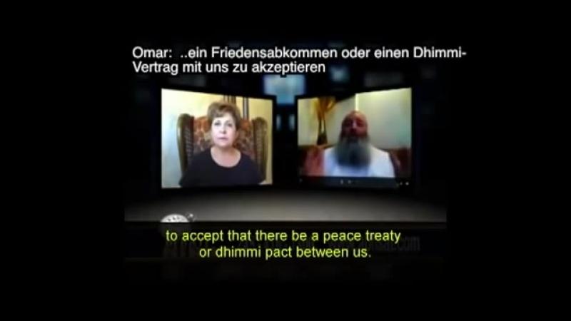 Videobeweis. Wo Muslime in ein Land einwandern, ist keine Heimat mehr für die Freiheit.