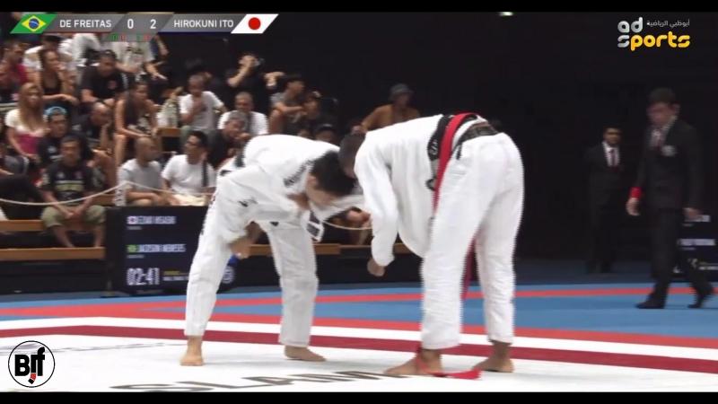 Marcelino De Freitas vs Hirokuni Ito TokyoGS2018