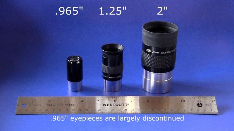 Telescope Basics 3 (of 6): Understanding common eyepieces for telescopes