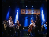 SWINGING BACH 2000. Live from the Marketplace in Leipzig.