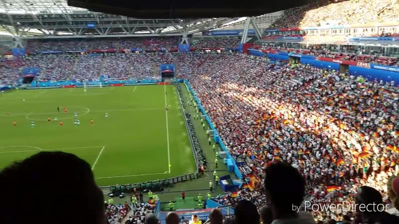 Чемпионат мира по футболу 2018 Группа F Корея-Германия 2:0 Kazan Arena 27.06.18 Заряд