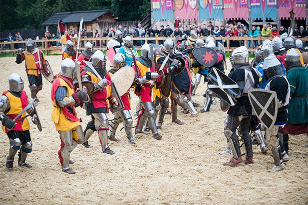 Чемпионат по историческому бою «Зов героев» 2017