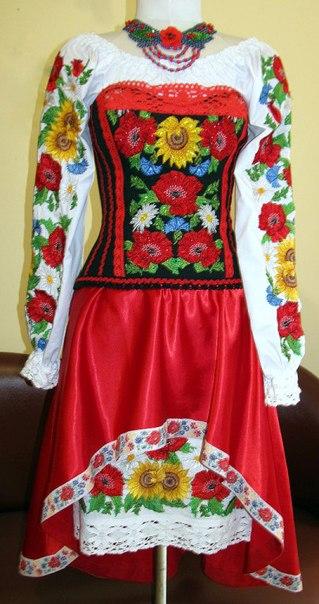 жіночі вишиванки плаття+фото e0af2d93600ff