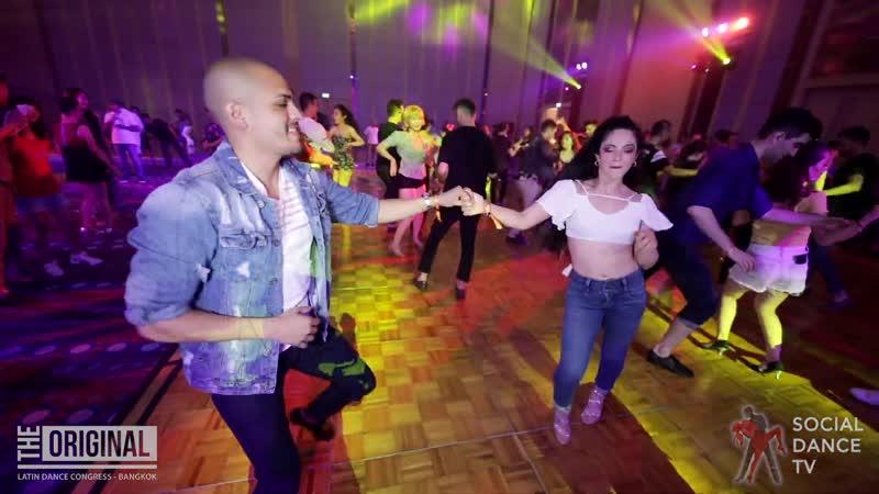 Adolfo Indacochea Lorenita Andrade. Social Dancing @ The Original Latin Dance Congress 2019, Bangkok