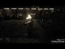Египетский танец с огонь-саблей