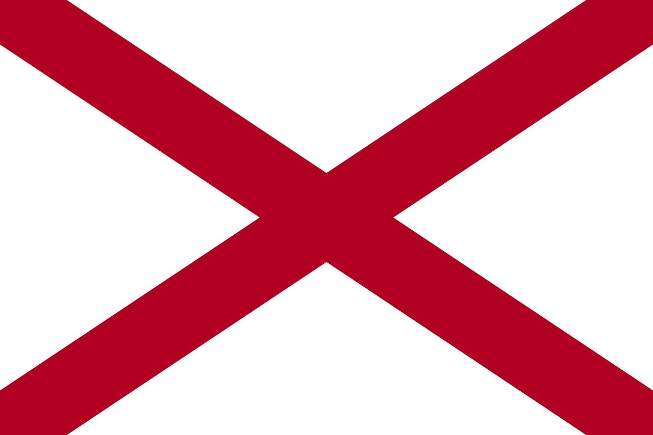 Флаг Алабама