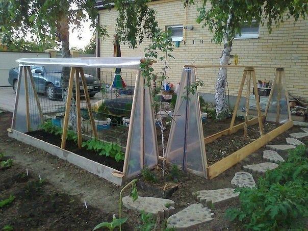 Сады и огороды парники своими руками видео - Модная мама