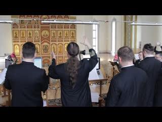 Хор Валаамского монастыря -