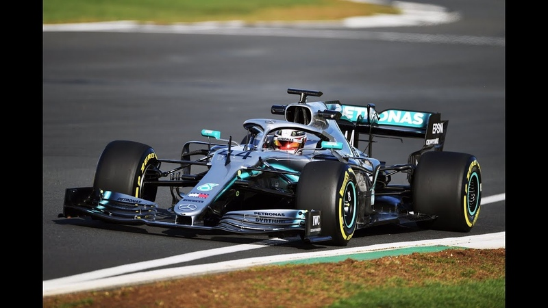 ПЕРВЫЙ БОЛИД ФОРМУЛЫ 1 2019 НА ТРАССЕ AMG MERCEDES 2019 W10 FORMULA 1 NEW MERCEDES F1 CAR 2019