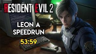 Resident Evil 2 Remake - Leon A Speedrun - 53:59