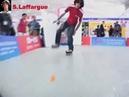 Inline Freestyle Slalom Seba vs Jiazi