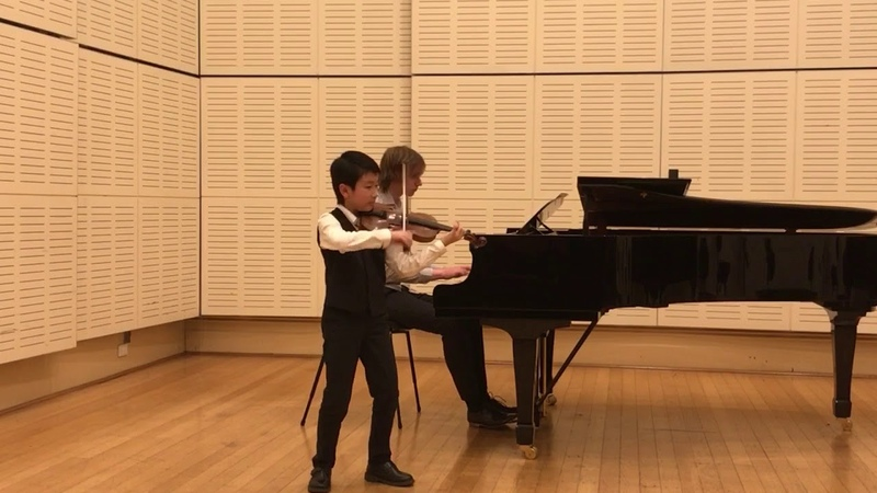 Introduction and Rondo Capriccioso-Christian Li (10 yrs old)