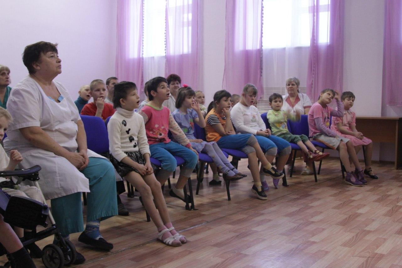 Новогодняя акция в Первомайском детском доме