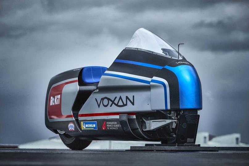 Гоночный электроцикл Voxan Wattman может установить рекорд скорости