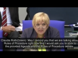 Leftist German parliament members disrupt moment of silence for murdered teen