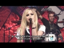 Avril Lavigne - Interview Girlfriend [Music Station, Japan] (FullHd 1080p)