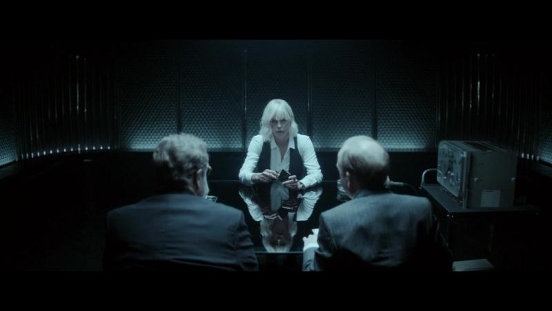 Взрывная блондинка.Начало допроса