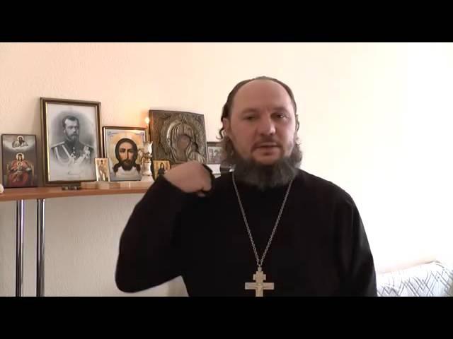Обращение иеромонаха Лонгина (Сущика) о предательстве в Церкви