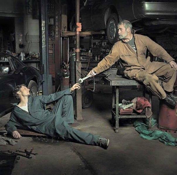 Смешные картинки механика