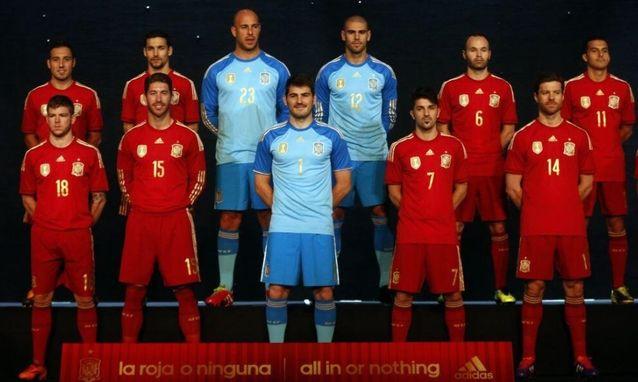Сборная Испании представила форму на ЧМ-2014 (фото)