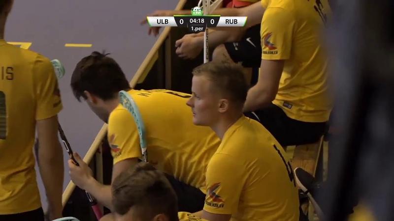 ELVI florbola līga Betsafe Oxdog Ulbroka - Rubene (22.09.2018)