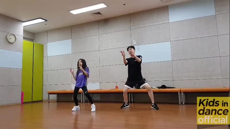 [키즈인댄스] 나하은(Na Haeun) -블랙핑크(Blackpink) - 뚜두뚜두 댄스 연습스케치