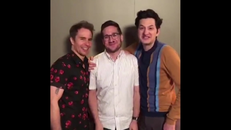 Sam Rockwell, Josh Horowitz and Ben Schwartz