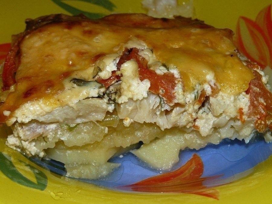 Обалденная вкусная запеканка картофельная с рыбкой Получается изумительная