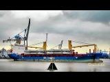 BBC VIRGINIA V2EK8 IMO 9501277 Emden Germany tug assistance mit Schlepper Frachtschiff vessel