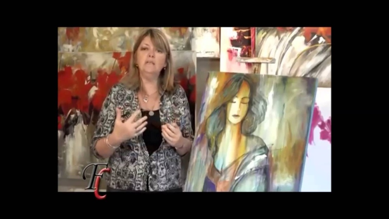 MONITOR | Gabriela Mensaque | cuadro mujer | Fusión Crear