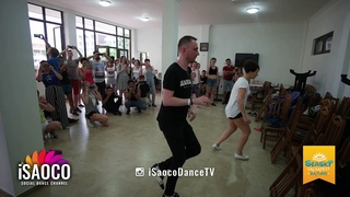 Svetlana Ray and Anton Shcherbak Classes at Seasky Salsafest Batumi, Sunday 17.06.2018