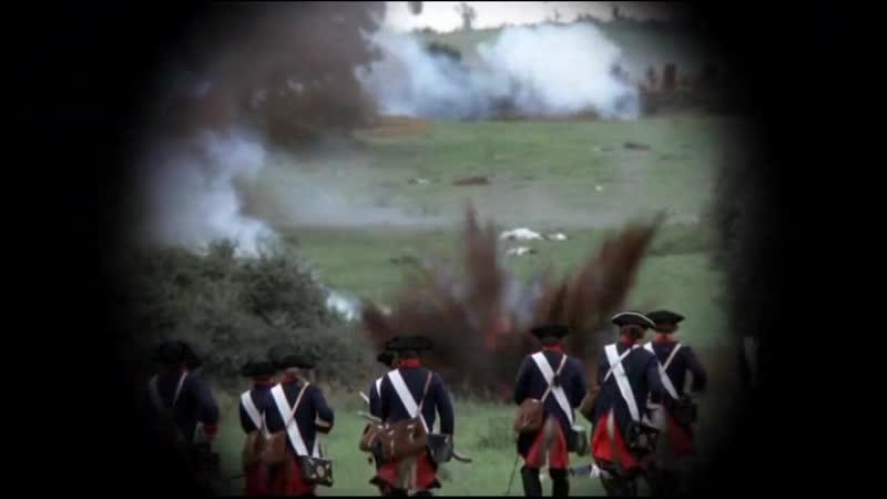 1740 г. Бой между пруссаками и австрийцами. Война за австрийское наследство