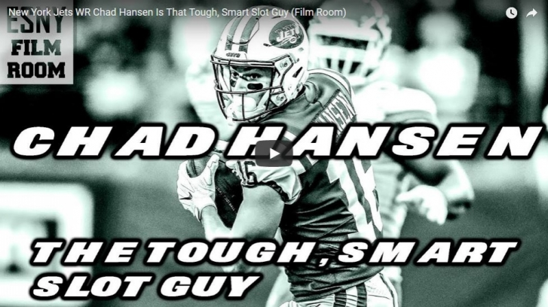 New York Jets WR Chad Hansen Is That Tough, Smart Slot Guy (Film Room)
