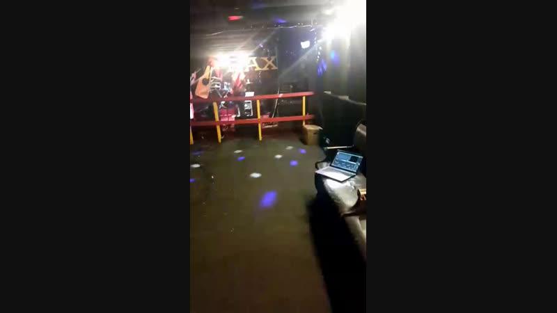 Саунд Чек группа на сцене с 20 50