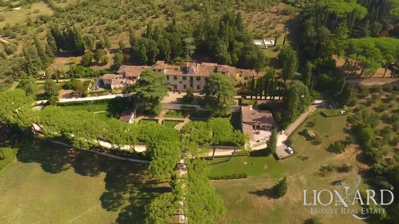 Charming historical estate in Florence, Tuscany, Italy