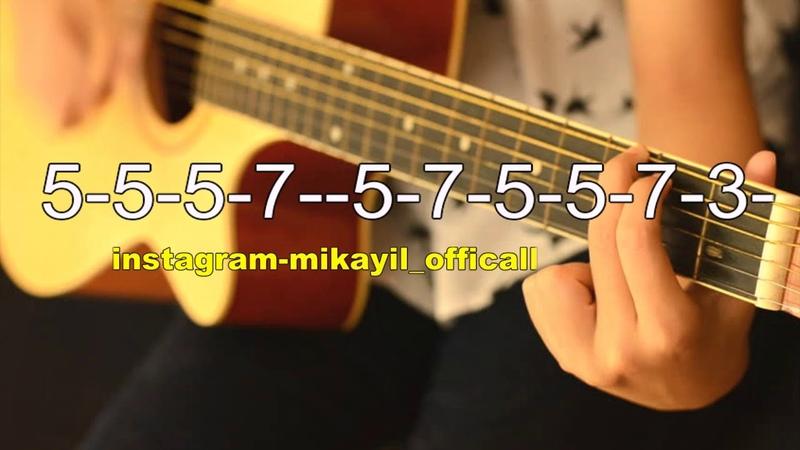 Gitara dersi - Dolya Solo 2018