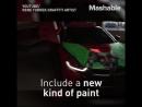 Термочувствительные краски - это революция в автотюнинге! Художники теперь могут создавать не один образ автомобиля, а сразу два