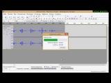 Запись голоса с микрофона на компьютере в программе Audacity