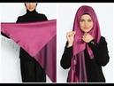 Eşarp Nasıl Bağlanır Türban Şal Bağlama Teknikleri headscarf scarf shawl