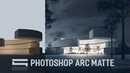 Matte Painting for Architecture Photoshop Architecture