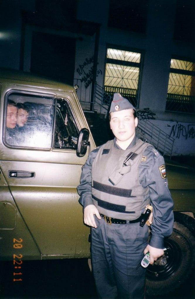 ОВД Троицка, 2002 год патрудирование города