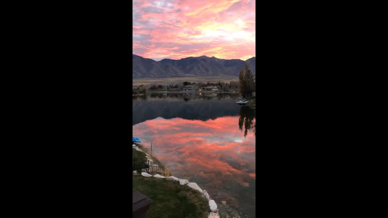 Восход в Юте