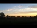 Enjoying the sunset in Santa Barbara