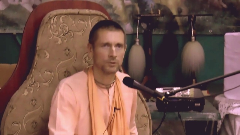 Е С Ананда Вардхана Свами махарадж представляет мужской Монастырь Святого Имени