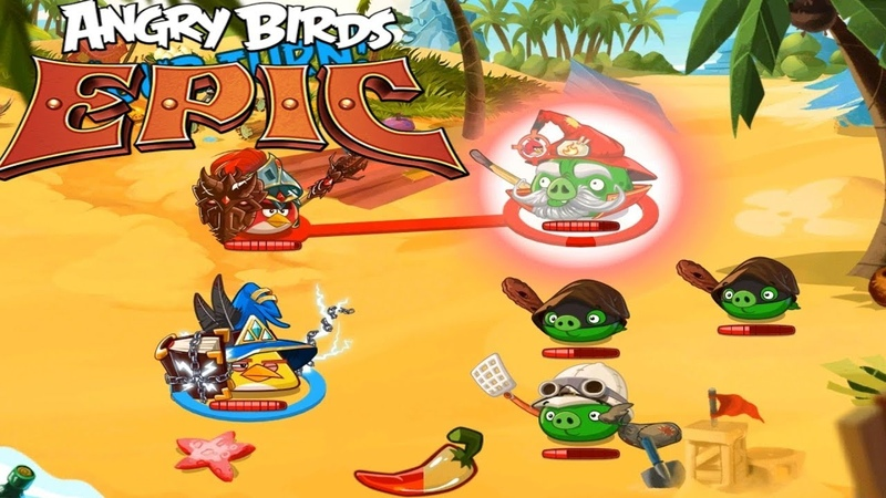Angry Birds Epic RPG (EN) - First look. Birds in a beautiful RPG (Android RPG)
