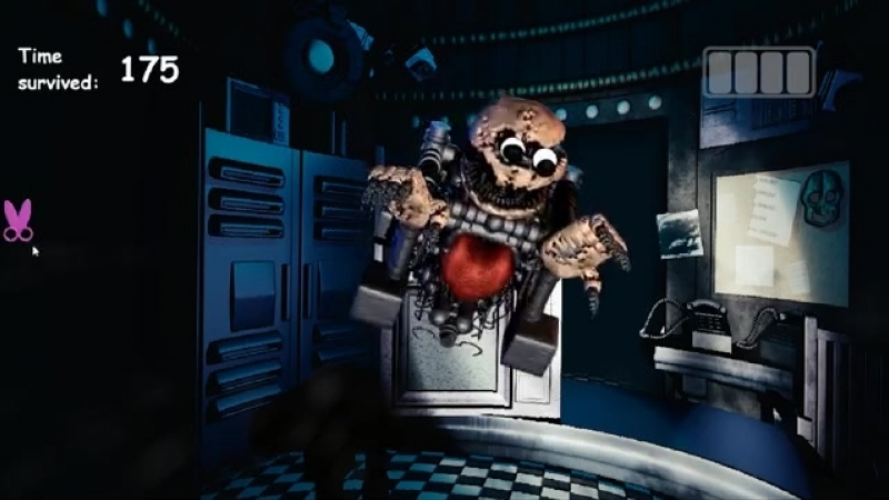 Baldi's Basics in Nightmares JUMPSCARES (Baldi's Basics Animatronics).mp4