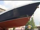 В Ярославле спустили на воду пограничный сторожевой корабль «Балаклава»